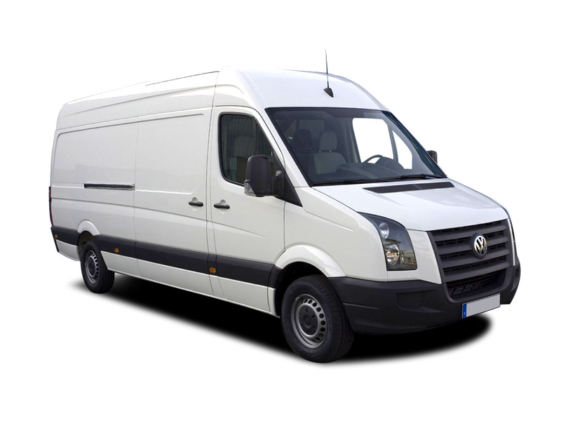 VW Crafter skap