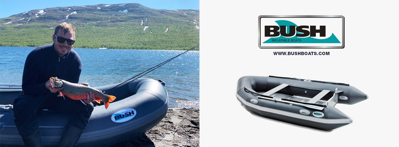 Bush boats återförsäljare Sverige